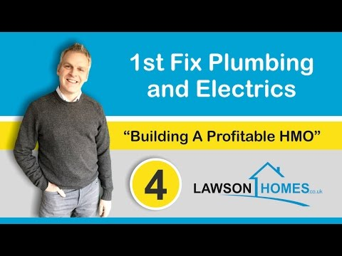 First Fix Plumbing and First Fix Electrics | What To Consider On Your Next Property Development