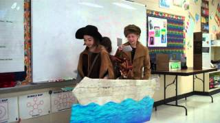 Lewis and Clark and Sacagawea in Pegram