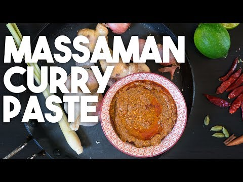 🌶 THAI MASSAMAN Curry Paste | Spice Blend | Kravings