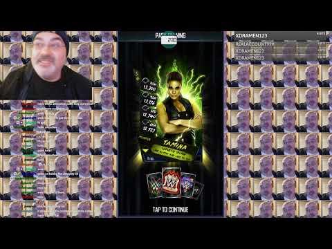 Neon Pull! Neon Nexus Packs and Female Gothic Pack Opening - WWE Supercard