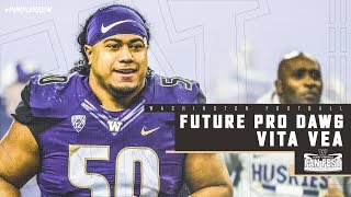 Football: Vita Vea Spring Preview Pac-12 Network Interview