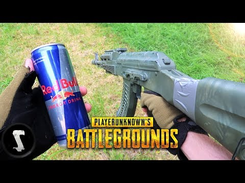 BATTLEGROUNDS in REAL LIFE!! (PUBG Airsoft)