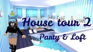 FUTURISTIC HOUSE TOUR 2 (Loft & Party) Roblox Adopt me | Its SugarCoffee