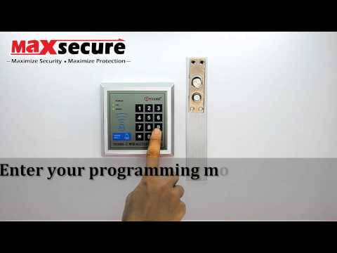 Ad2000 m rfid access control manual