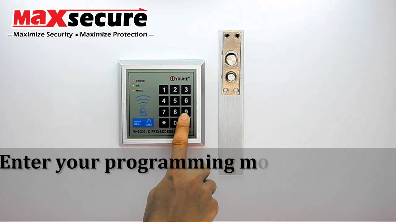 maxresdefault maxsecure g2000 door access configuration manual mp4 youtube yh2000-c wiring diagram at alyssarenee.co