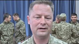 Учасники АТО провели урок патріотичного виховання для студентів військової кафедри ПНТУ