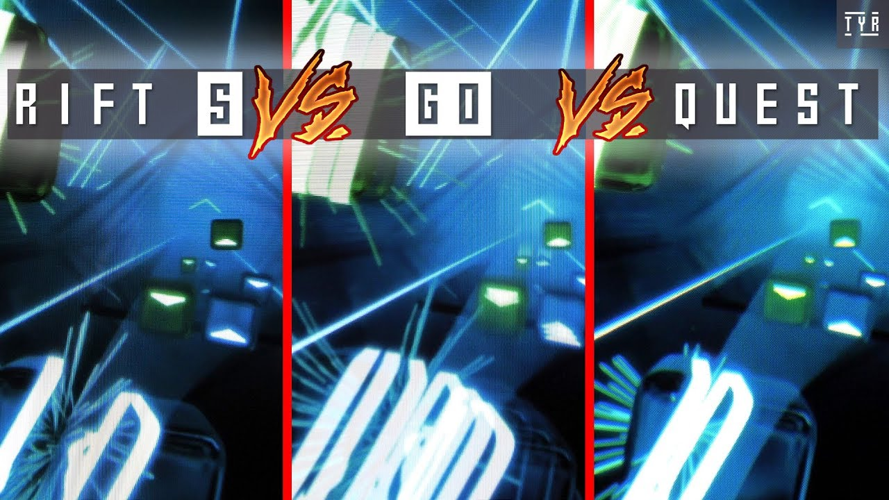 THROUGH THE LENSES - Oculus QUEST vs Oculus RIFT S vs Oculus GO
