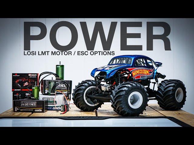 LOSI LMT ROLLER - What motor/ESC?