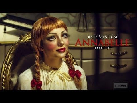 The Conjuring: Annabelle Doll Makeup | Maquillaje para ...