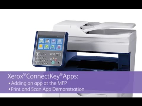 Xerox ConnectKey Apps: Add a Print & Scan for Cloud App