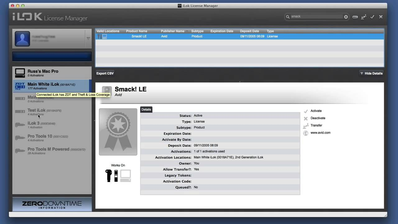 iLok Licence Manager Show & Tell - YouTube