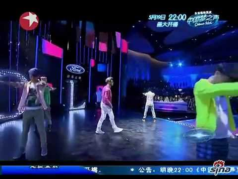 Huang Xiaoming 黄晓明 on Chinese Idol - Episode from 18th May 2013 (full show) Travel Video