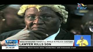 Police investigate the circumstances under which lawyer Nyakundi shot his son