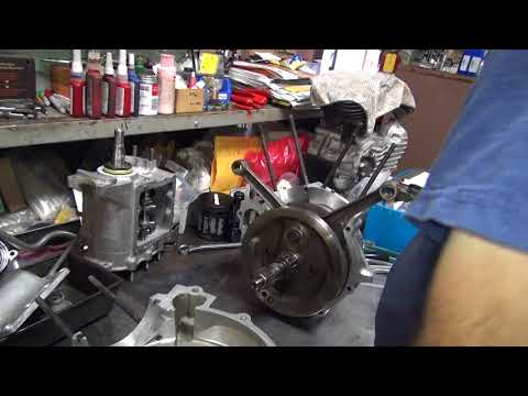 88ci evo #106 assembling a swapmeet special  pieced together motor 1984 - 1999 tatro machine