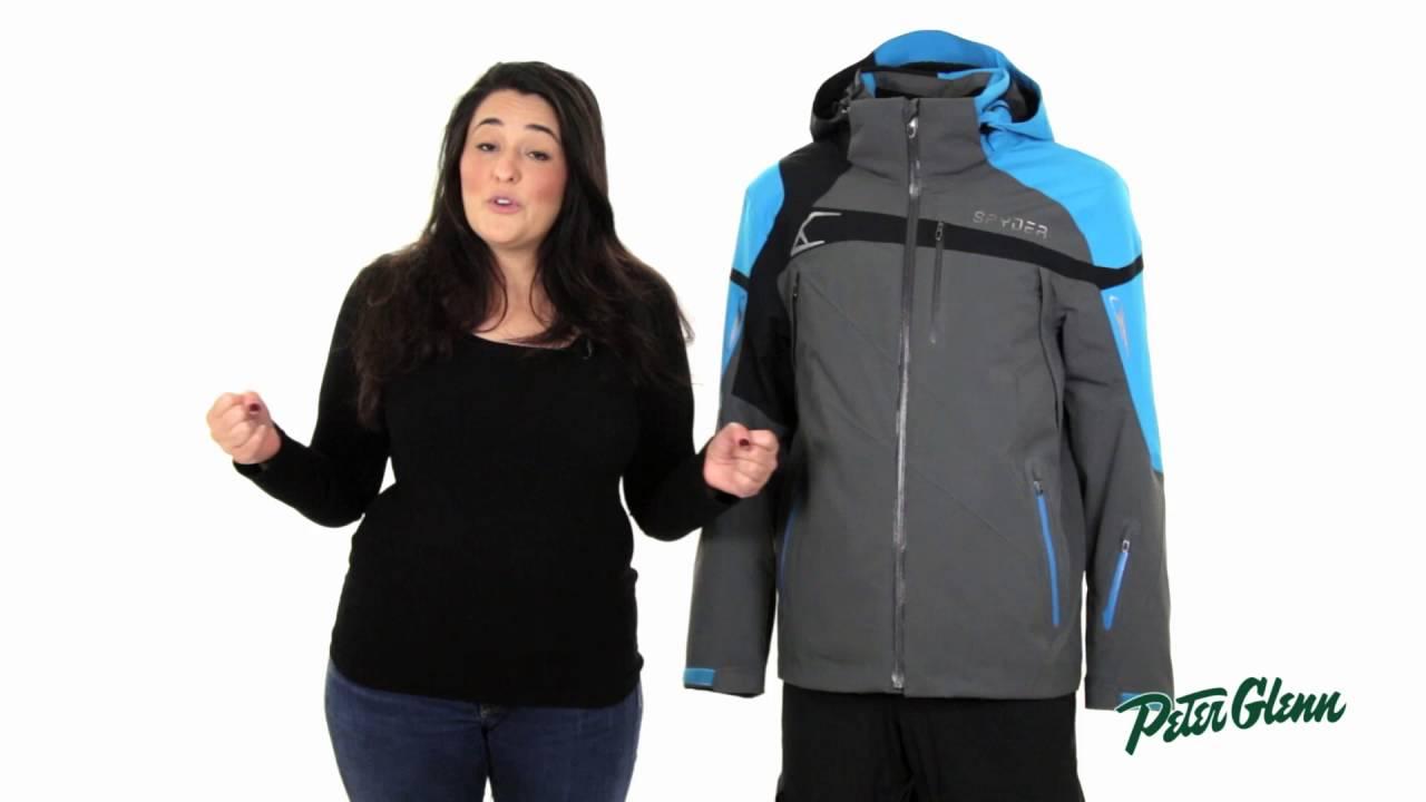 2017 Spyder Men s Titan Ski Jacket Review by Peter Glenn - YouTube fa2614b3d4d