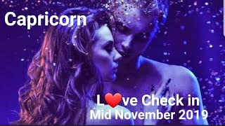 Capricorn ❤ Mid November * Someone's finally seeing the  magic of this connection but is it to late?