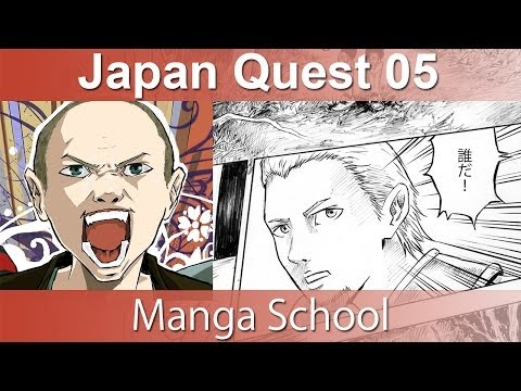 JQ 05: Going to Manga School in Japan