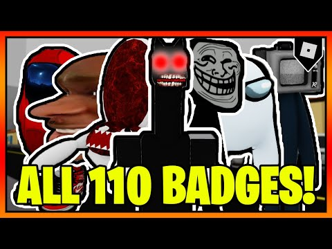 How To Get ALL 110 BADGES In TREVOR CREATURES KILLER 2! || Roblox