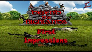 GAME REVIEW: Defend The Highlands [Early Access] | First Impressions Review | Steam PC Game Reviews