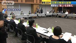 解除後は「新しい生活様式」 愛知など39県を諮問(20/05/14)
