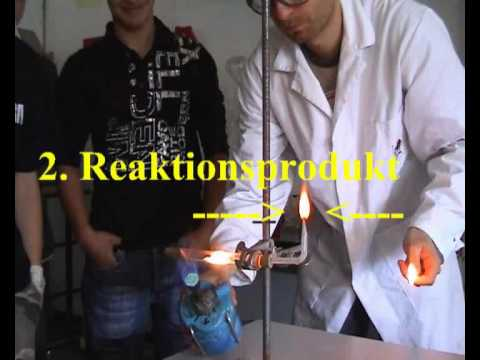 Reaktion Von Magnesium Mit Wasser 2 - Reaction Of Magnesium And Water 2