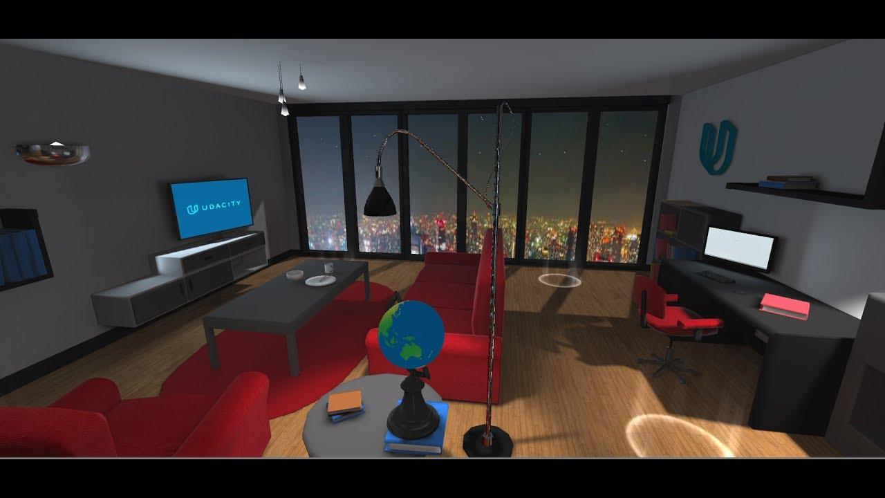 Xavi Heras Udacity VR Developer Nanodegree Project 2 - Build an Apartment
