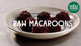 Raw Macaroons | Special Diet Recipes |  Whole Foods Market