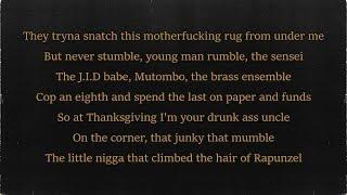 J.I.D - Despacito Too (Lyrics)