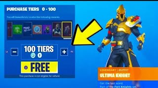 BUG GET FREE LEVEL 100 BATTLE PASS SEASON 10 MIT DIESEM BUG IN FORTNITE !