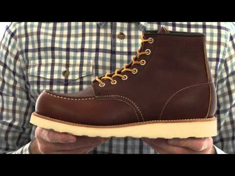 "Red Wing Heritage 6"" Moc Toe  SKU:7371513"