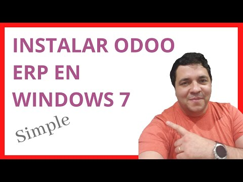 Curso De Odoo ( Open ERP ) Español - Clase 01 - Instalación En Windows 7 - Tutorial Gratis - Chile