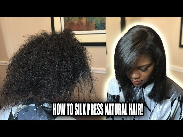 HOW TO SILK PRESS NATURAL HAIR | SECRETS THAT PROS DONT TELL YOU!