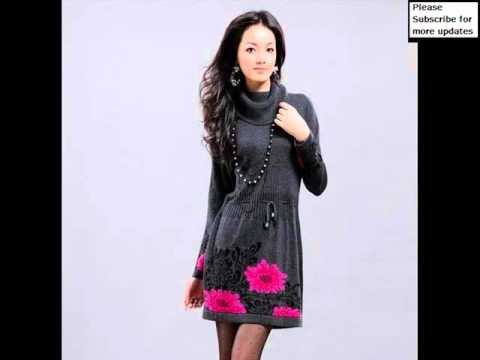 collection-of-wool-dress-|-wool-women's-dresses-collection-romance