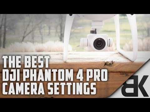 The Best DJI Phantom 4 Pro Camera Settings (In-Depth Walkthrough)