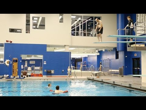 Paralyzed coach takes an exhilarating high dive