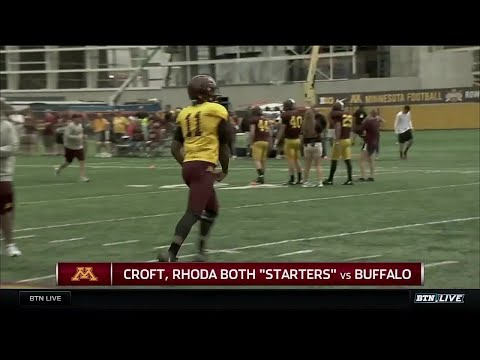 Chuck Long on Minnesota Quarterback Battle