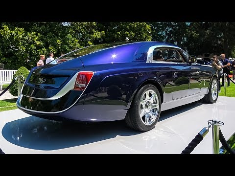 World's Most Expensive Car: $12.8 Million Rolls Royce Sweptail