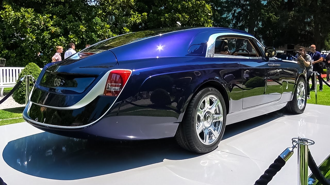 World S Most Expensive Car 12 8 Million Rolls Royce Sweptail