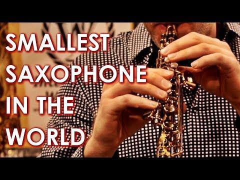 SMALLEST Saxophone in the World - The Soprillo Sax
