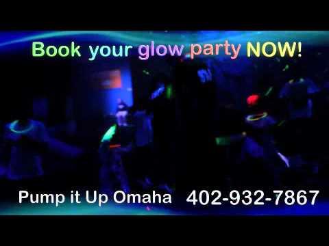 Pump It Up Glow Party in Omaha, NE