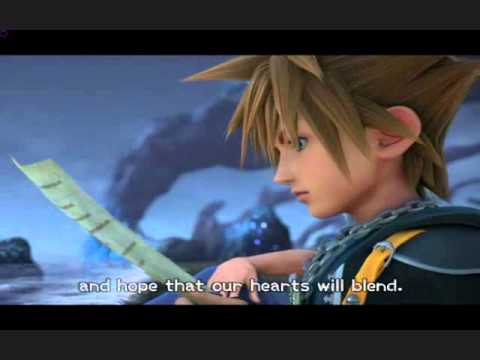 kingdom hearts 2 end scene