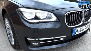 2013 BMW 740d Facelift LCI (313hp) - DRIVE & SOUND (1080p FULL HD)