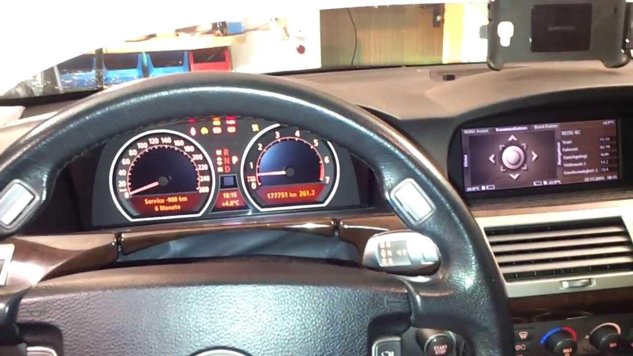 BMW E65 N62 Motor Klackert