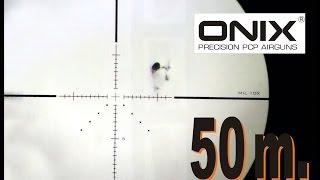 (P10/P12) ONIX Bulk monotiro cal. 5,5 . Test a 50 metros.