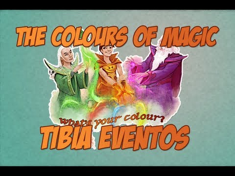 The Colours of Magic Event - Tibia Quests #16 [ LOOT ZAOAN CHESS BOX ]
