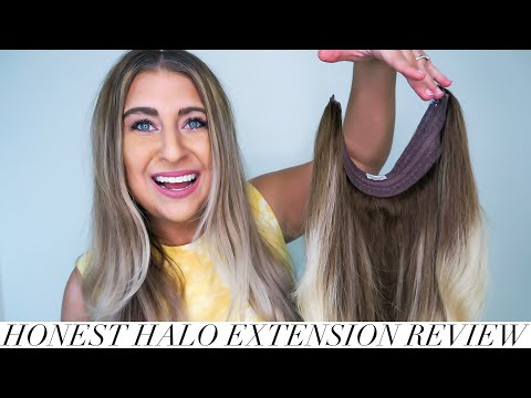 HONEST HALO COUTURE HAIR EXTENSION REVIEW | Review \u0026 How I Wear Them 2020