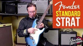 Fender Standard Stratocaster Demo   Fender Standard Strat