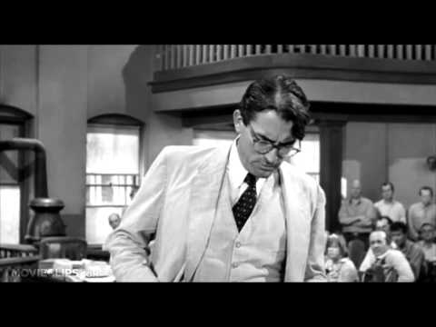 To Kill a Mockingbird - Atticus Finch's closing argument