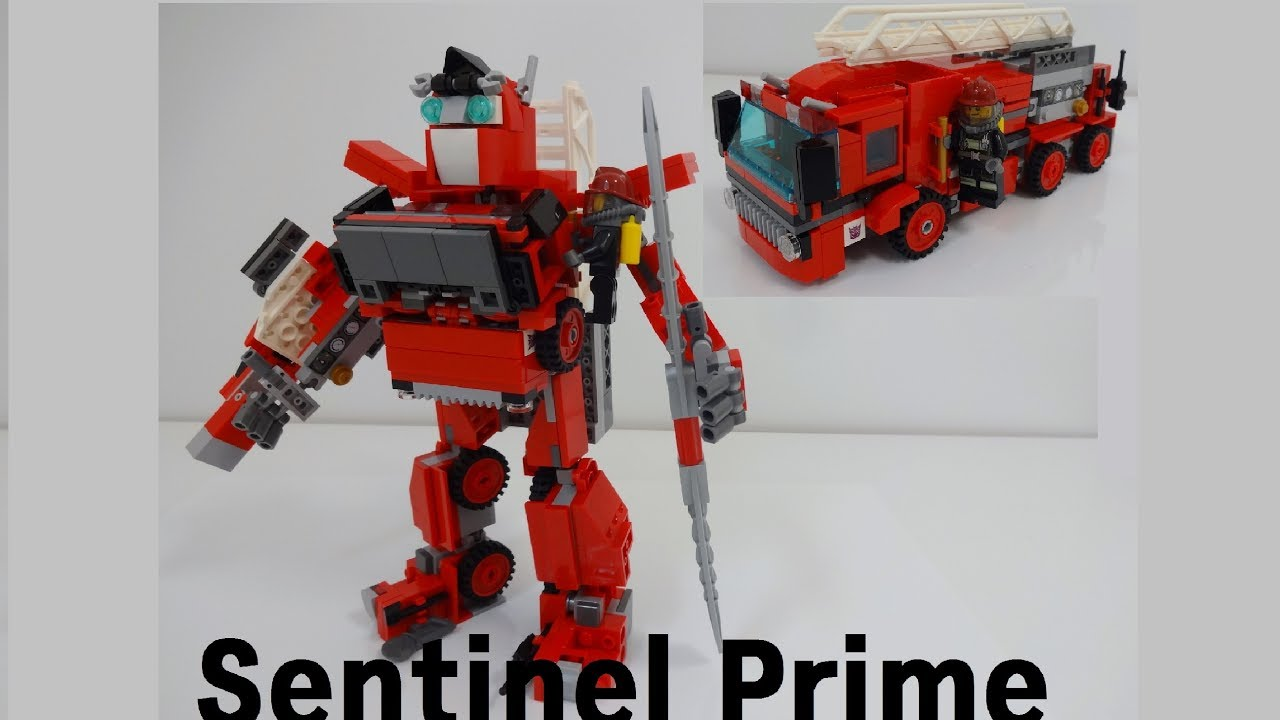 lego transformers sentinel prime - youtube