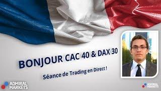 Trading Live ⏰ Bonjour CAC40 & DAX30 [03 février 2020]